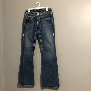 True Religion Joey Super T Women's Flare Jeans